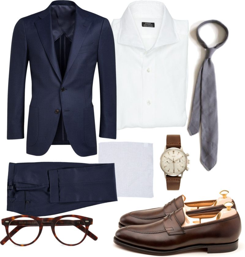 What to wear for wedding - Blue suit, white shirt, silver grenadine ...