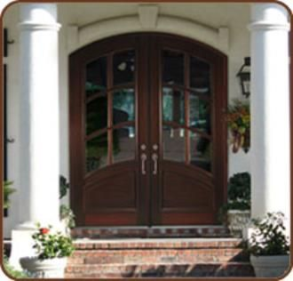 Arched Double Front Doors arched exterior double doors | windows, insulation, doors, roofs