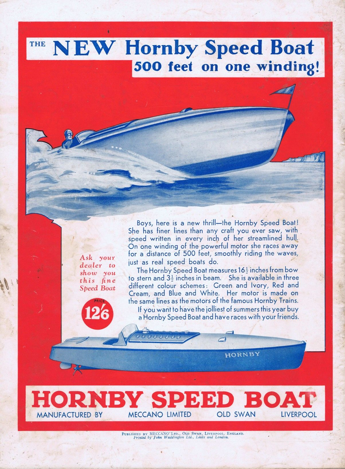 hornby speed boat condor Google Search Speed boats