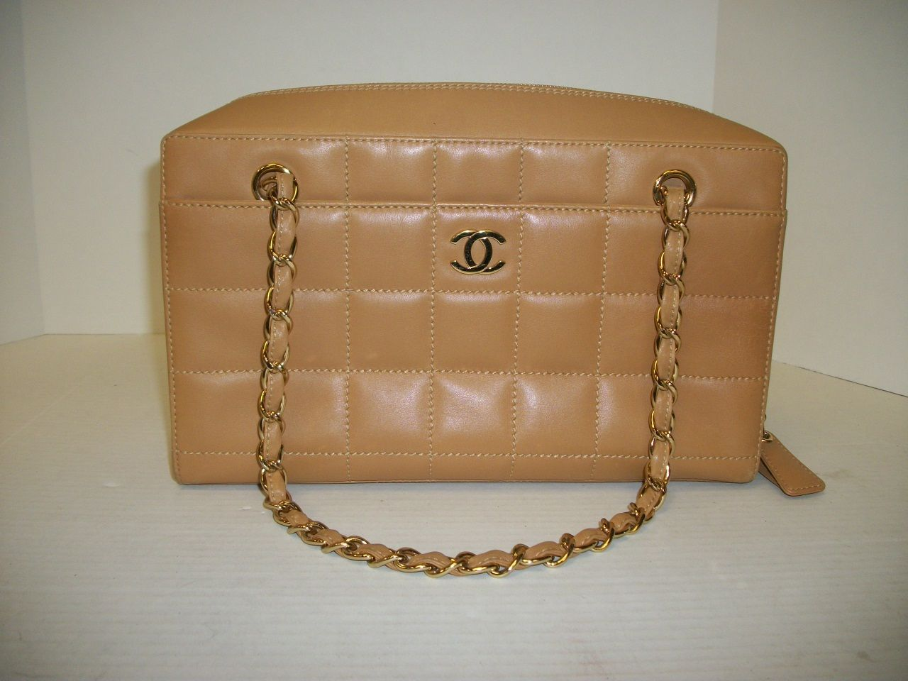 10a84d2e94f5 Keeks Buy Sell Designer Handbags - Chanel Camel Quilted Leather Chain  Shoulder, $1,229.99 (http