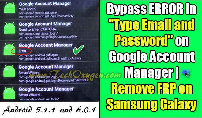 Bypass Error In Type Email And Password On Google Account Manager Google Account Manager Google Account Accounting