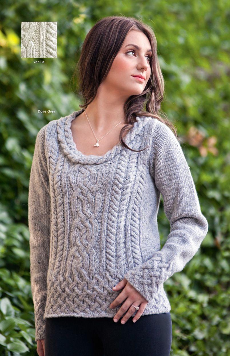Wool Cashmere Sweater | Knit&Crochet✂ | Pinterest | Cashmere ...