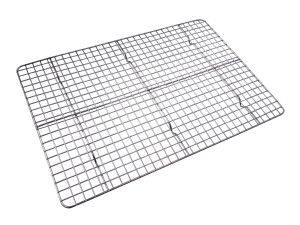 Checkered Chef Stainless Steel Cooling Rack - super strong and sturdy and fits into your half sheet cookie pan - a must have for every kitchen!