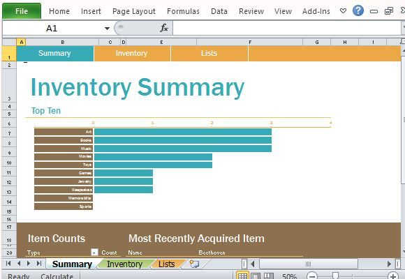personal inventory log template for excel excel templates
