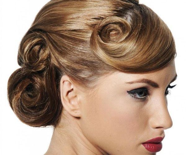 Marvelous 1000 Images About Hair On Pinterest Fancy Buns Fancy Short Hairstyles Gunalazisus