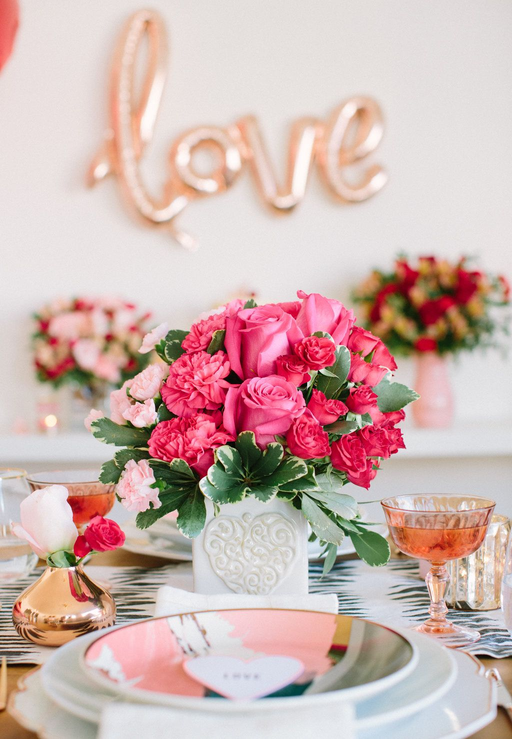 Pretty in Pink ValentinesDay Styled by 100LayerCake