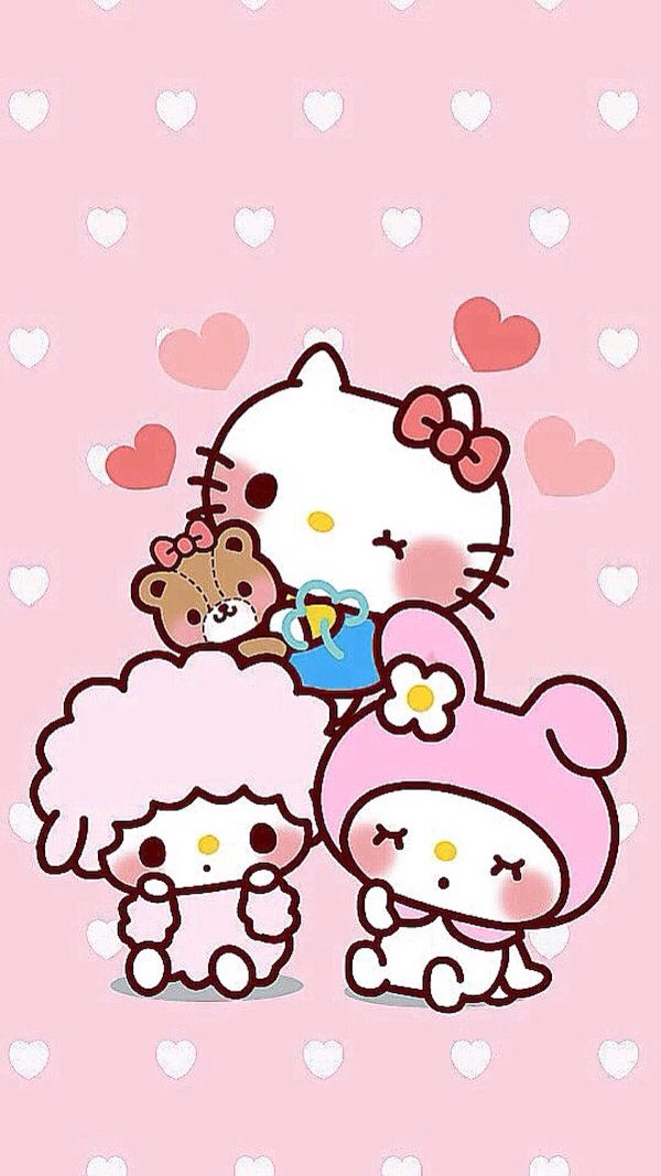 Hello Kitty My Melody Items Sanrio Cartoon