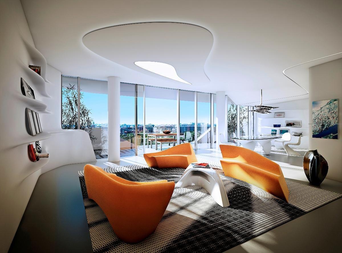 CityLife Milano Zaha Hadid - interior apartments | Zaha Hadid Grande ...