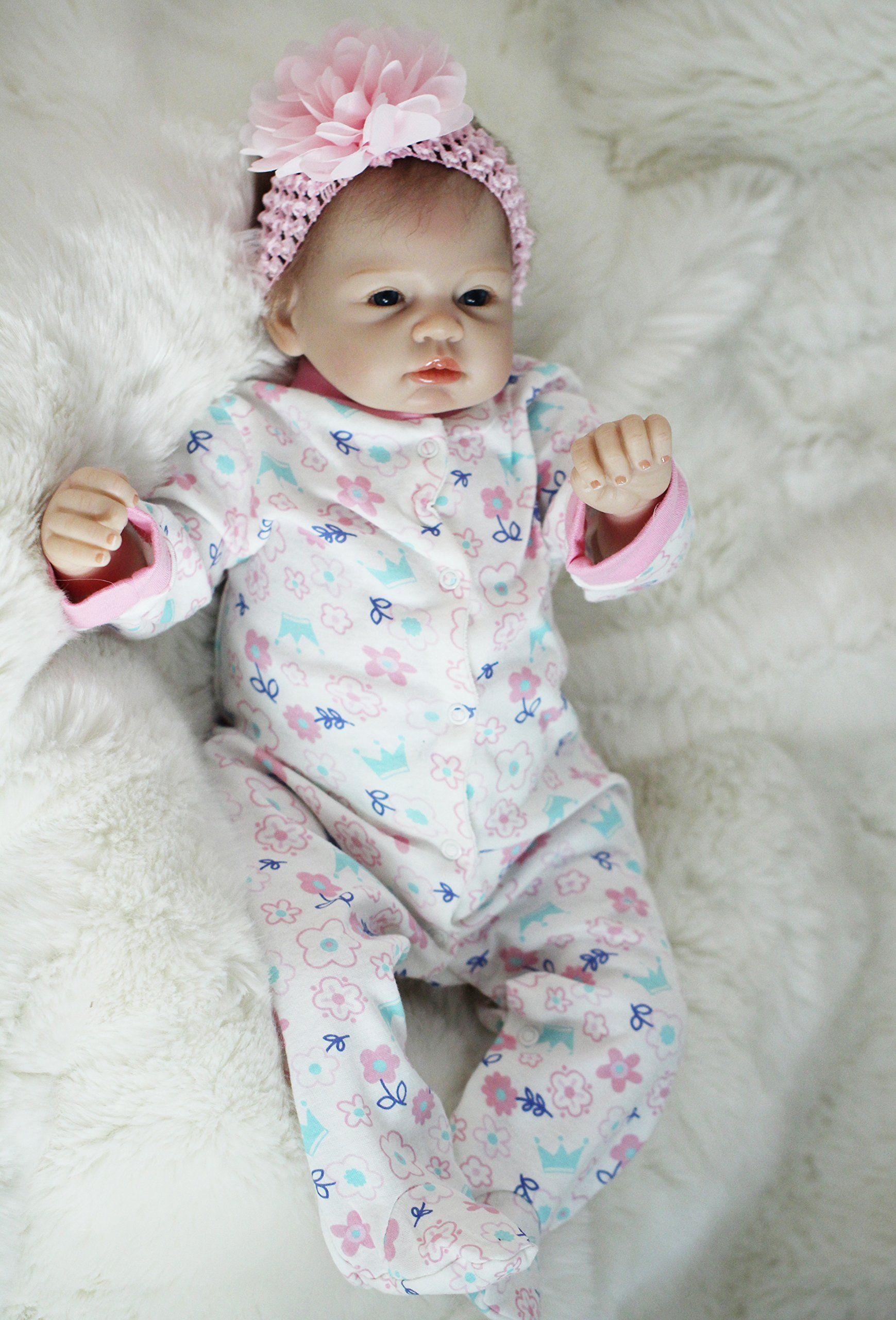 """OtardDolls reborn doll 22"""" reborn baby doll lifelike soft"""