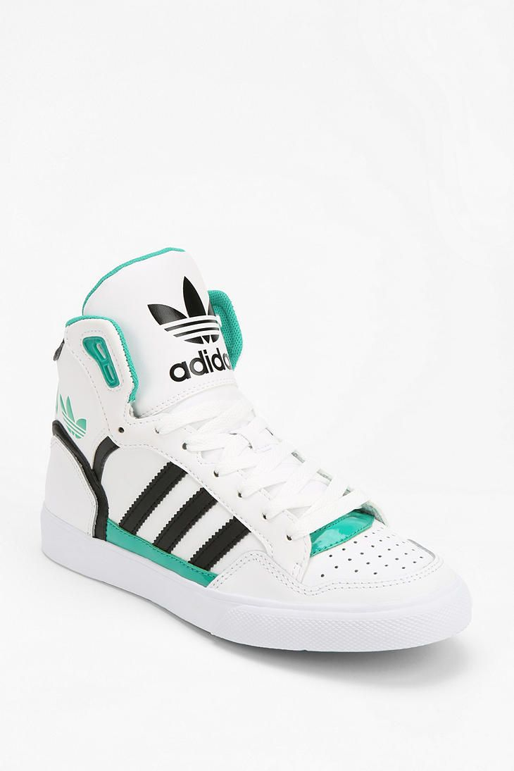 innovative design 5319d 94271 adidas Extaball Leather High-Top Sneaker