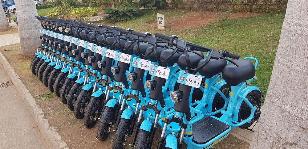 Bangalore S Public Bike Sharing Initiative Pbs Gets Yulu Miracle Delhi Metro Bus Number Bike