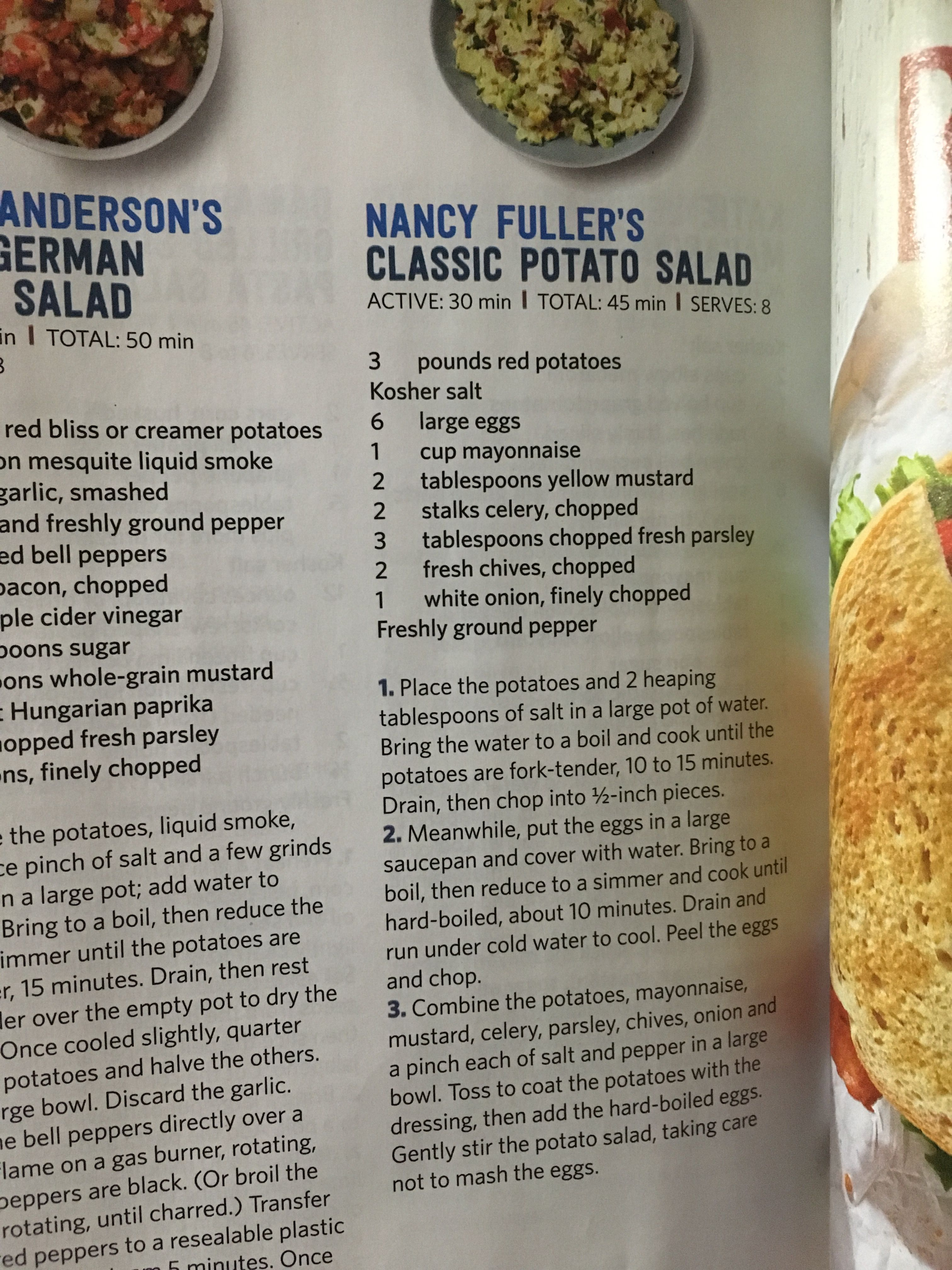 Classic Potato Salad Recipe Pioneer Woman