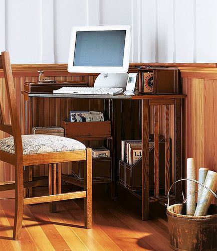 How To Make The Most Of A Small Corner Desk Small Corner Desk - Decoration and how to make the best use of a small corner desk