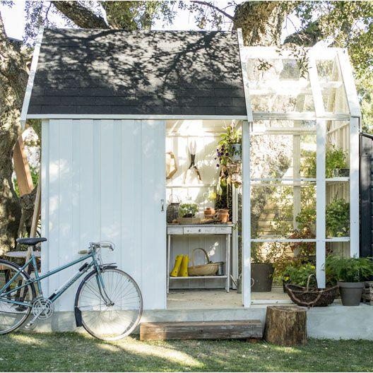 Abri de jardin en bois Serre Vertigo serre jardin Pinterest - Maison Toit Plat Prix Au M