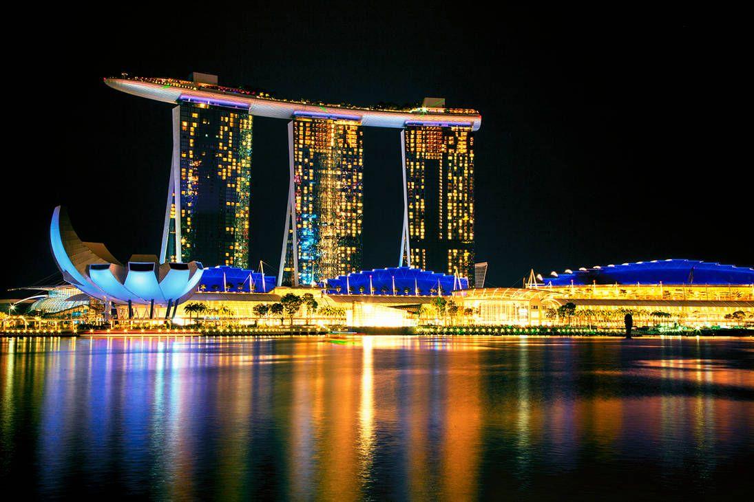Marina Bay Sands Hotel Singapore By Https Www Deviantart Com Capturing The Light On Deviantart