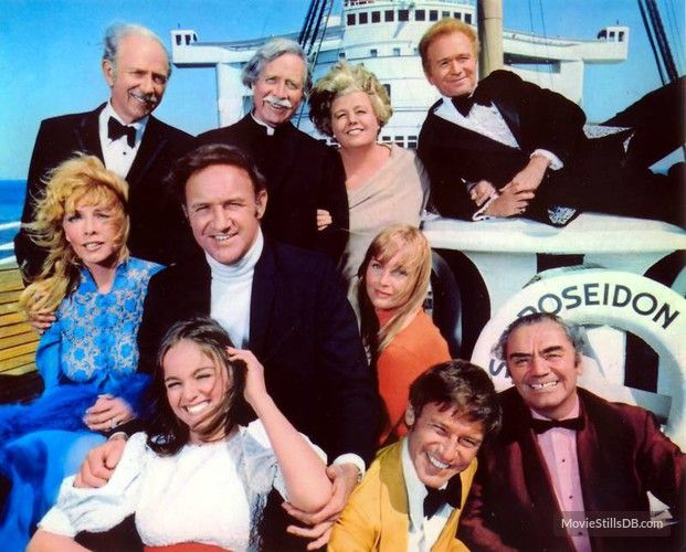 The Cast Of The Poseidon Adventure Jack Albertson Arthur O