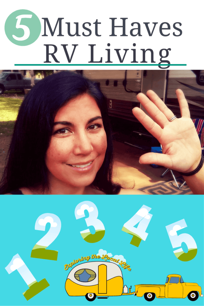 5 Must Haves for RV Living