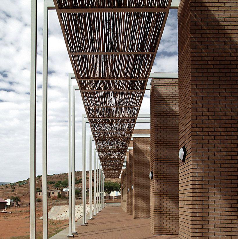 SAOTA mankgaile primary school Architecture, Canopy