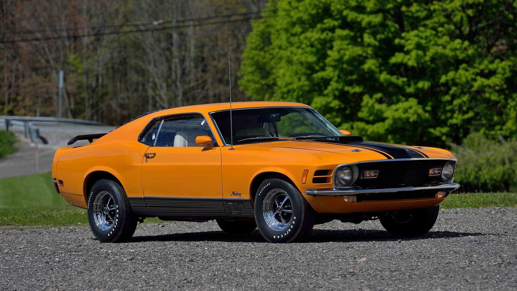 1970 ford mustang mach 1 fastback presented as lot s125 at harrisburg pa