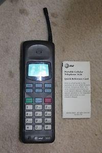 Att Portable Cell Phone Model 3620 1995 Rent Prop