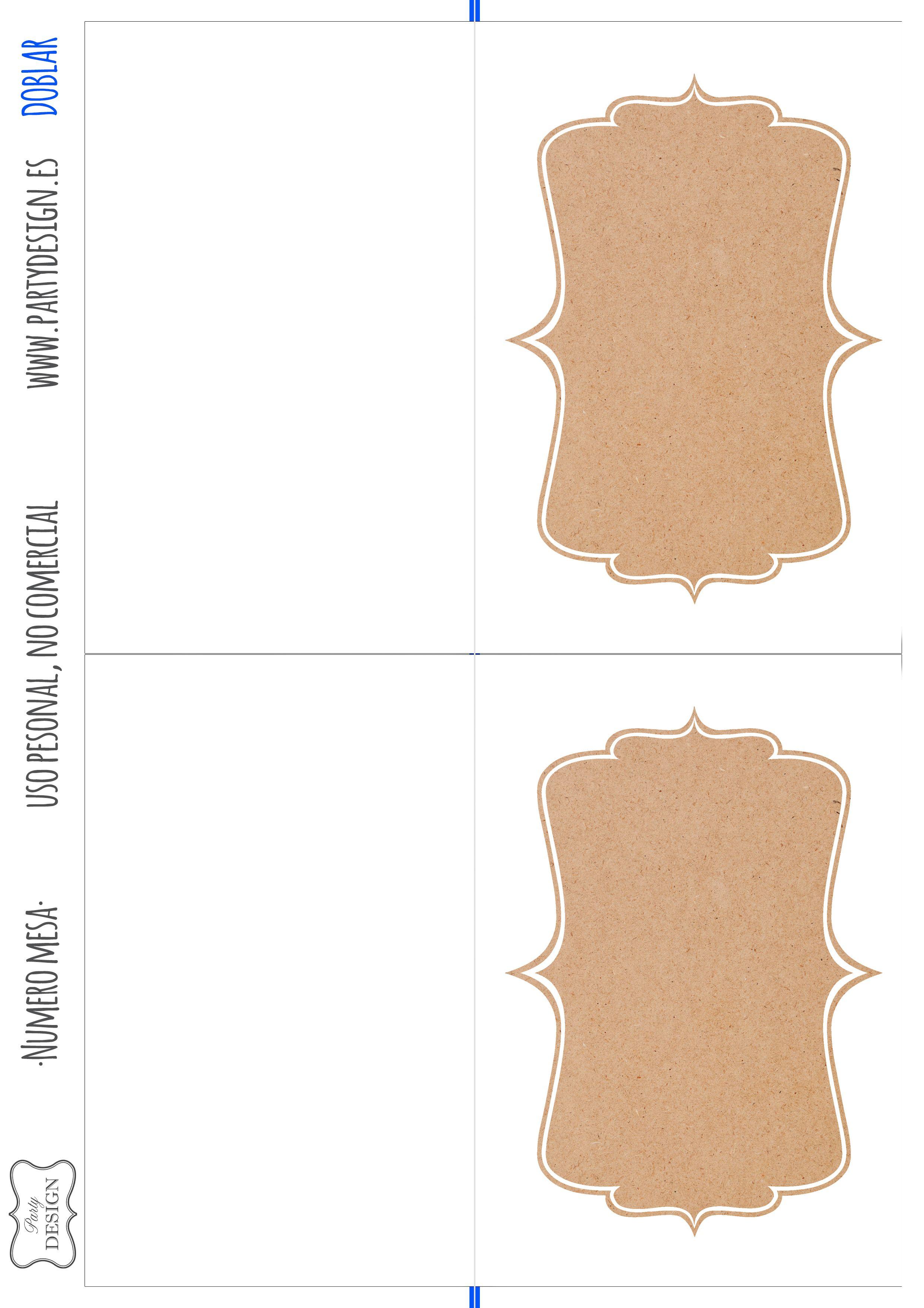 Imprimibles gratis numero mesa boda wedding table numbers ...