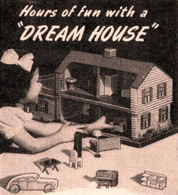 Even as a little girl I love miniatures used to see this add and drool with longing for it!