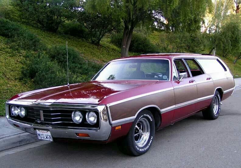 1973 Chrysler Town Country Station Wagon That Hartford Guy