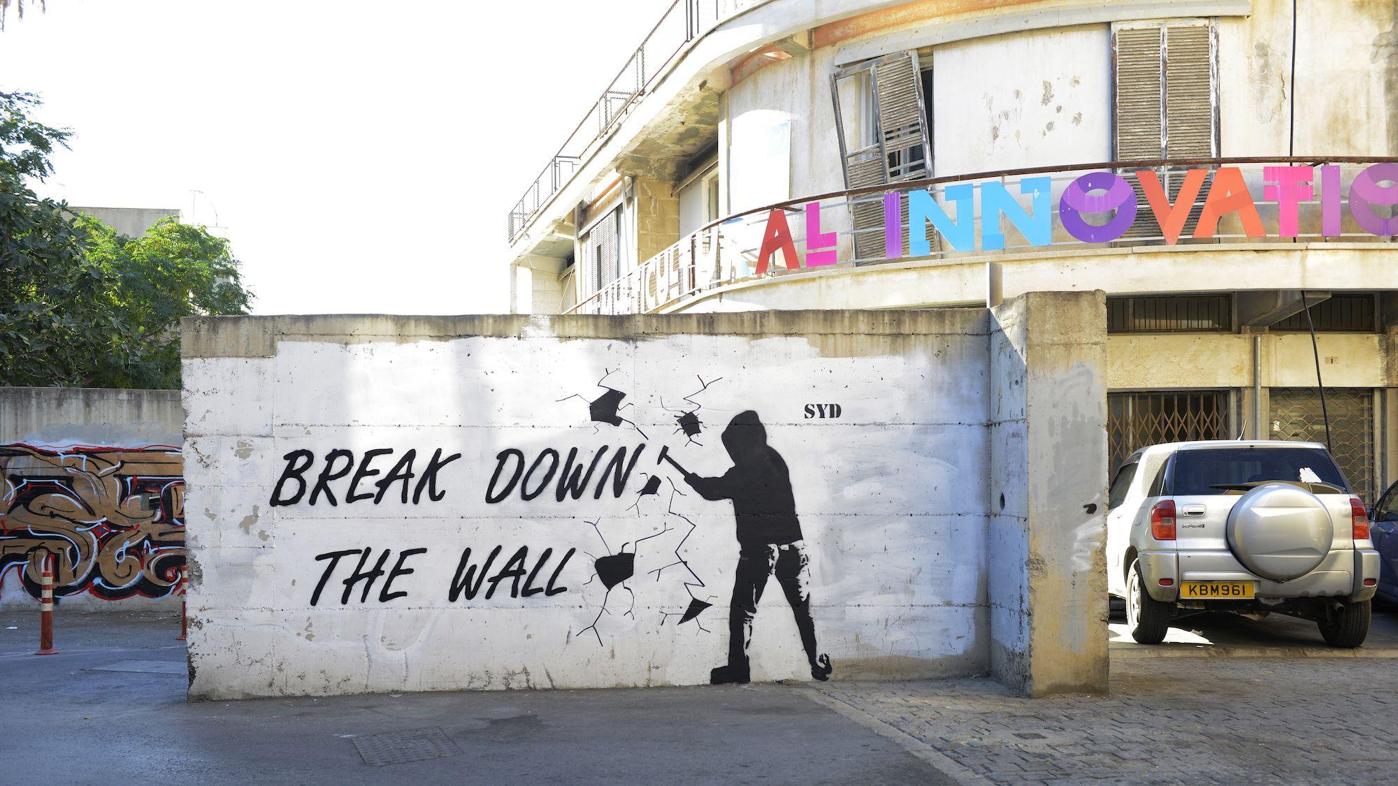 Protest Art on Border Walls Around the World