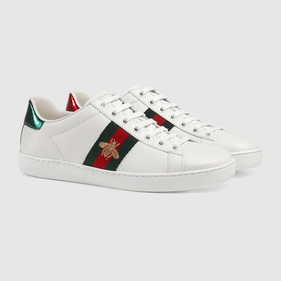 vente chaude en ligne 816f4 af205 Gucci Baskets brodées Ace | I love fashion | Baskets brodées ...