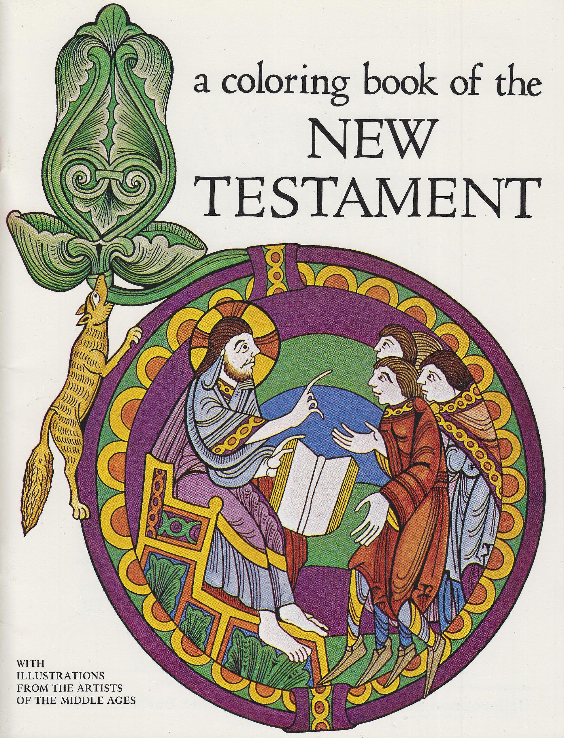 A Coloring Book Of The New Testament Amazon De Bellerophon Books Fremdsprachige Bucher Wenn Du Mal Buch Bucher Buchregal
