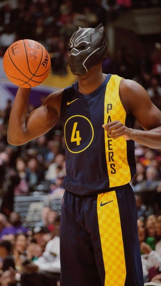 Victor Oladipo Indiana Pacers Dunk Contest Black Panther Mask Wallpaper e4b25dc39