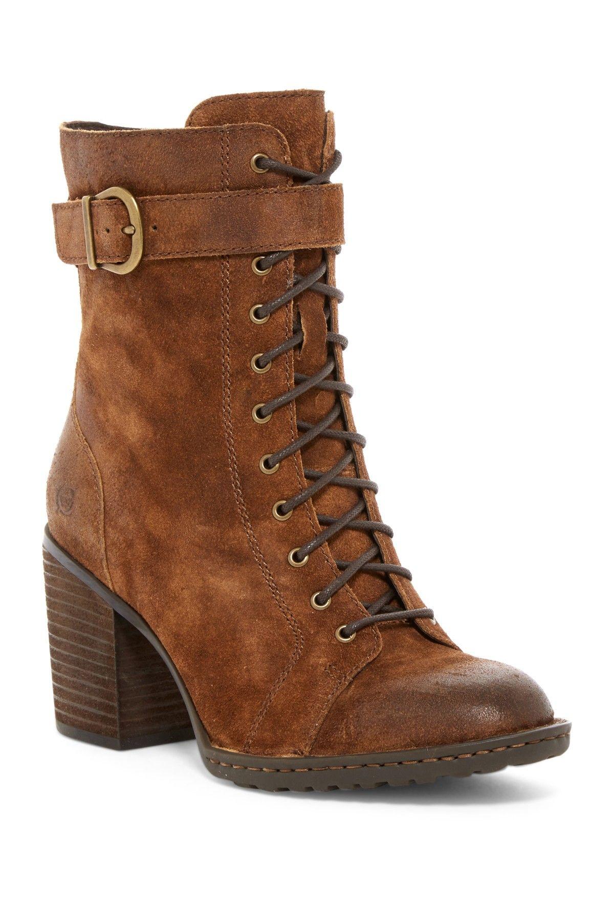 4b102d01f2255 Cass Block Heel Boot by Born on  nordstrom rack