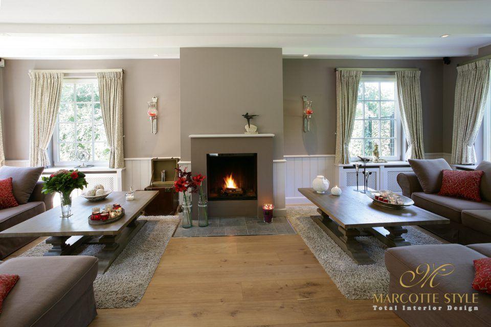 Marcotte style interieur ontwerper landelijke villa schoten my