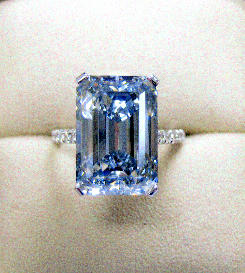 natural color crystals blue diamonds thomas diamond colored rough