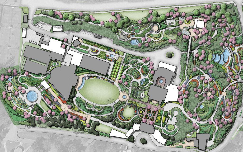masterplan botanical garden - yahoo