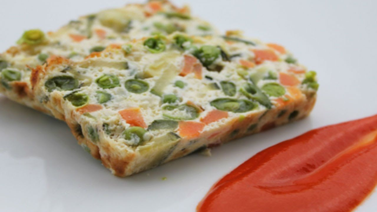 Cocine un nutritivo flan de verduras