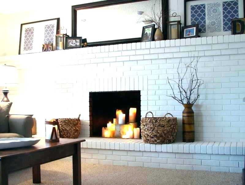brick wall fireplace brick wall fireplace pretty painted brick fireplaces on painted brick fireplace decorating ideas car pictures painted full brick wall fireplace makeover #whitebrickfireplace