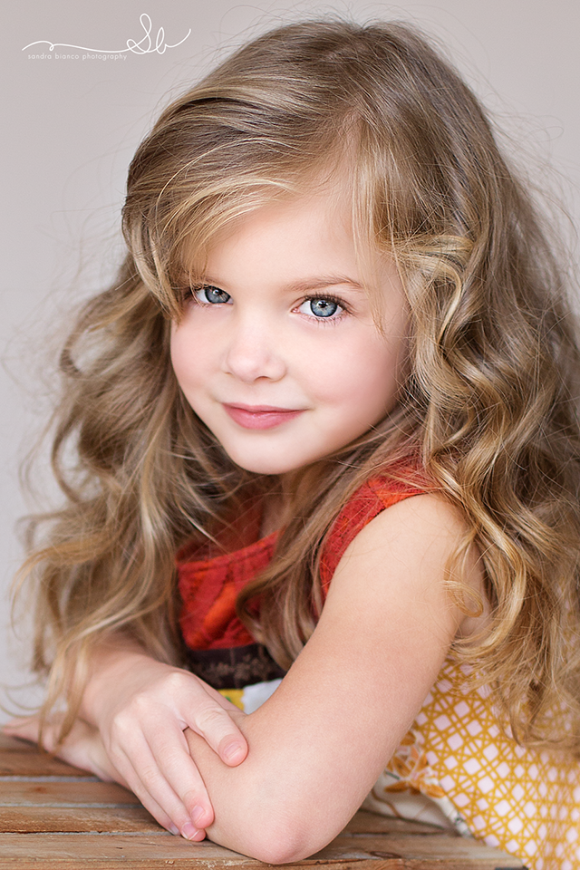 what a beautiful, sweet face Find this Pin and more on Russian Child Models by Maria Meidger. 50 Best Inspiratoin for Little Girl Haircuts - mybabydoo Curly short hair styles always look adorable on little girls.