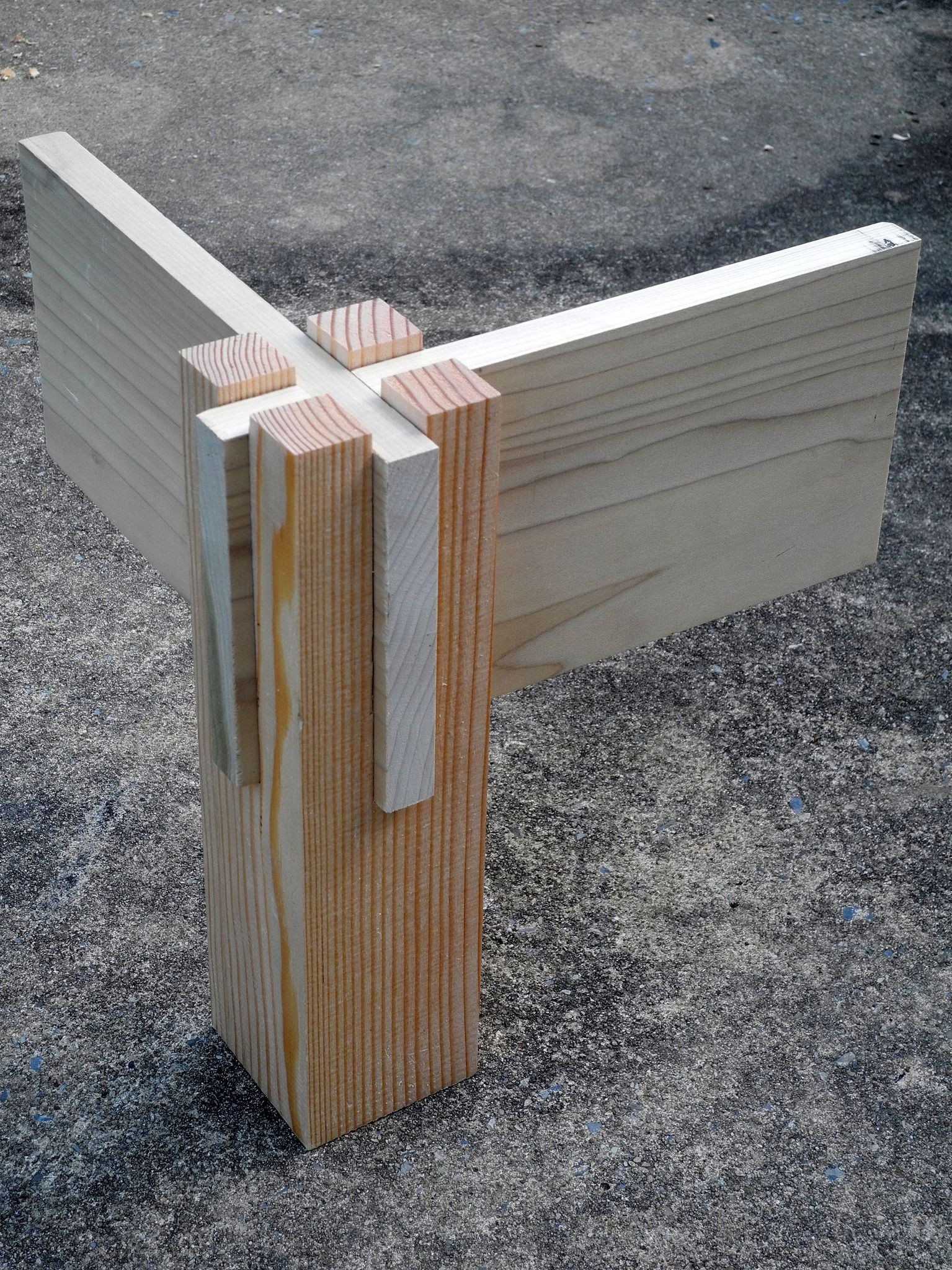 Corner Joint Bedframe In 2019 Wood Joinery Woodworking