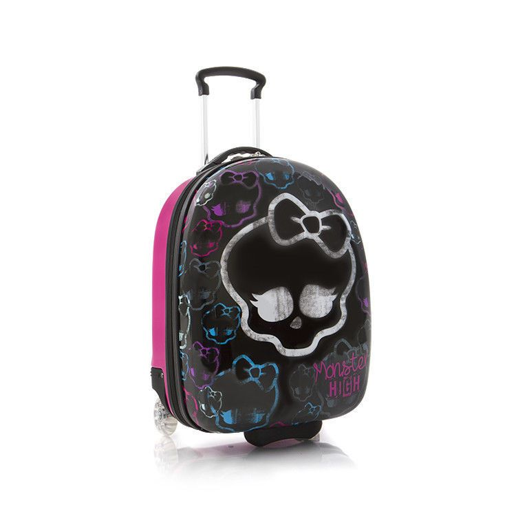 Heys Kids Luggage Monster High Carry On Hardcase Girls Rolling ...