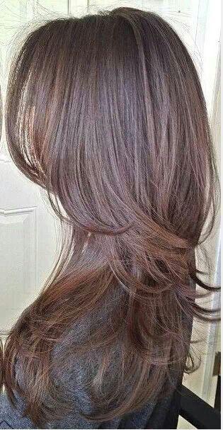 pingl par nancy kiko sur color cuts pinterest coiffures cheveux et longues coupes d grad es. Black Bedroom Furniture Sets. Home Design Ideas