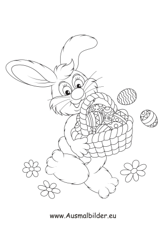 Malbild Osterhase Und Ostereier Zum Ausmalen Farben Malvorlagen Malvorlage Hase Malvorlagen Ostern Ostereier Ausmalen