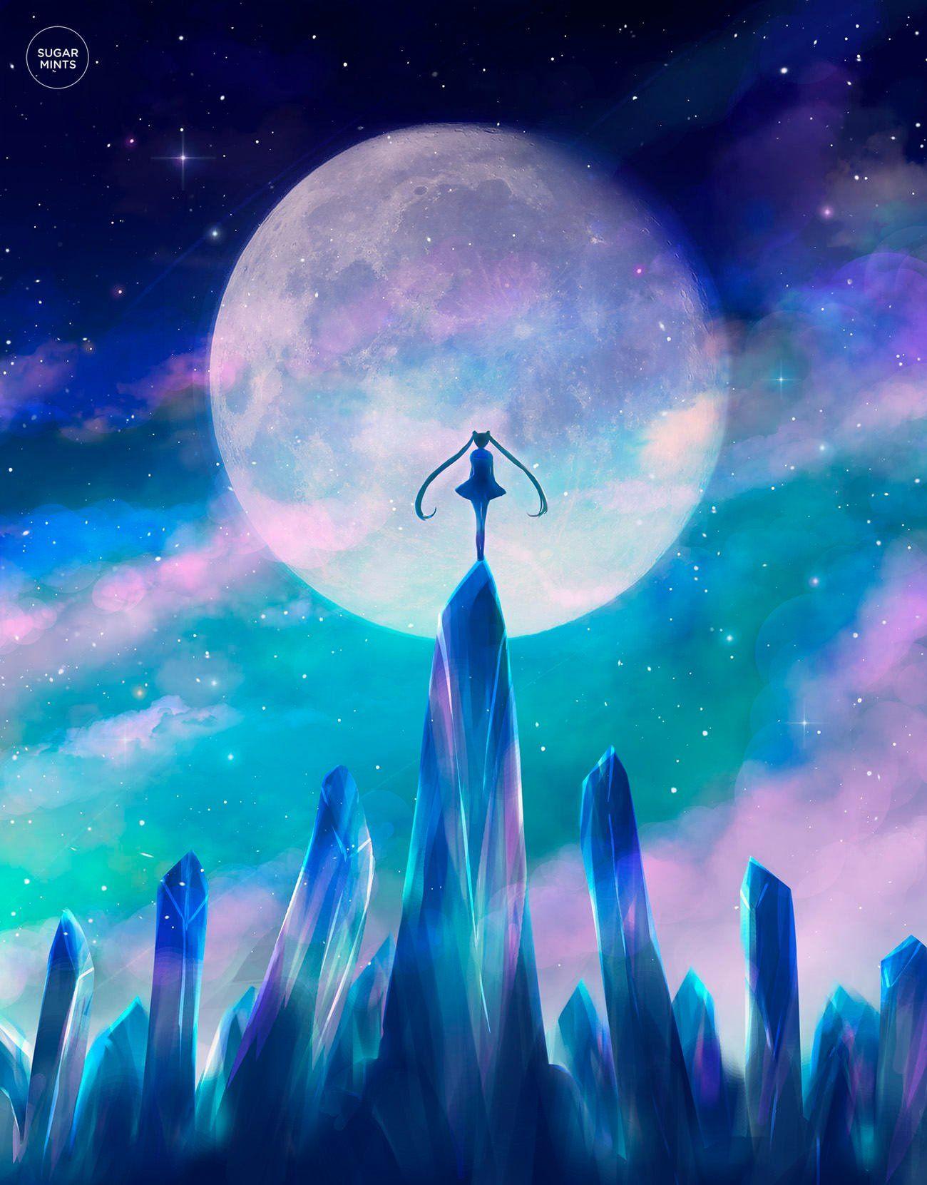 Sailor Moon Poster Moon Crystals Bishoujo Senshi Sailor Moon