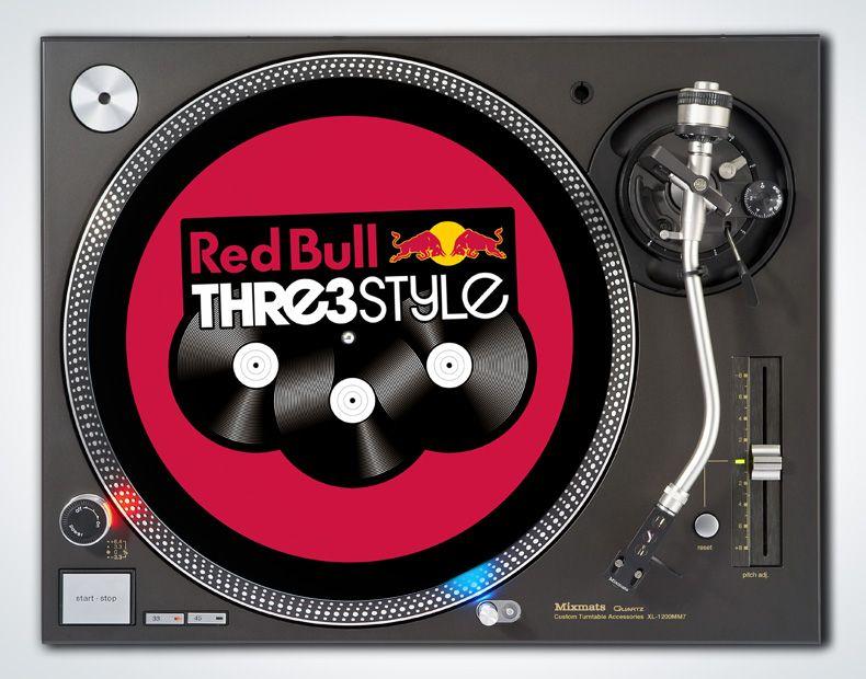 Custom Mixmats Red Bull Thre3style Custom branding