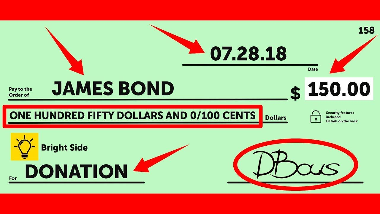 How To Write A Check A Step By Step Explanation Https Ift Tt 2kk2dii Youtube How To Write A Check A Step By Step Explanation Writing Blog Tips Youtube