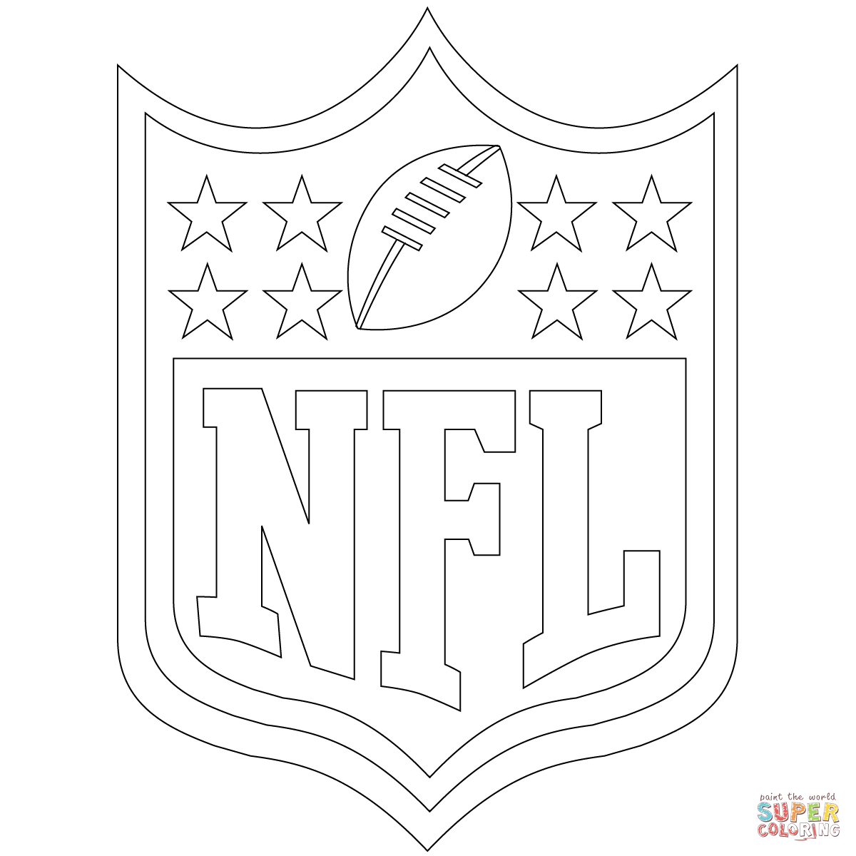 Top Coloring Nfl Pages In 2020 Football Coloring Pages Sports Coloring Pages Free Printable Coloring Pages