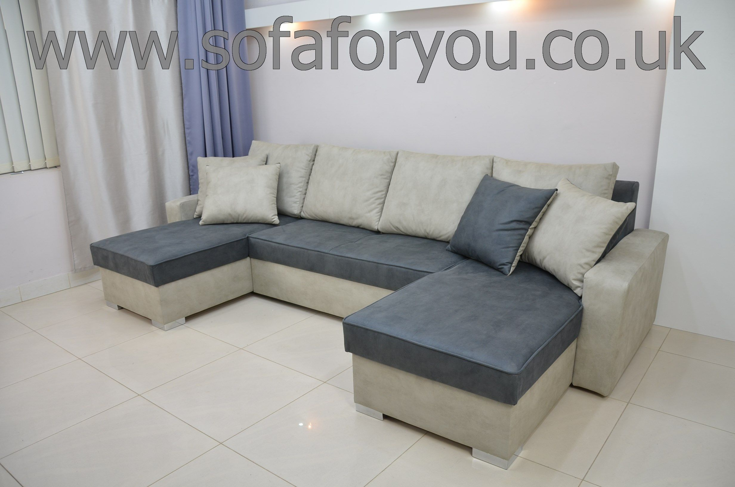 Duke Double Chaise Sofa Bed You Can Mix And Match Any Colours