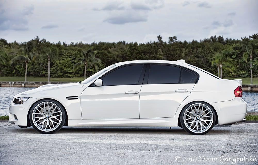 Bmw E92 M3 In Alpine White Bmw Bmw M3 Coupe Bmw Wheels