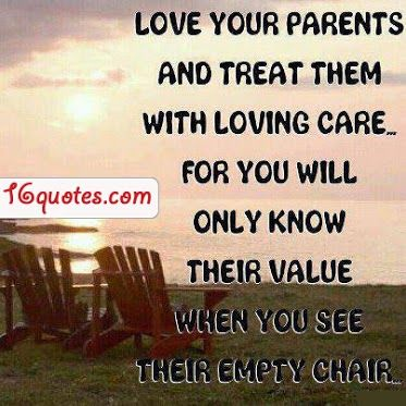 Empty Chair Quotes   ... Will Only Know Their Value When You See ...