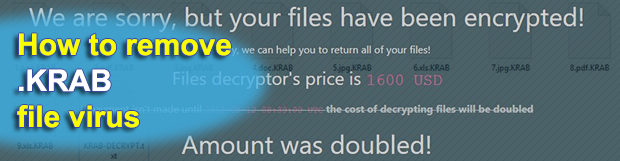 GandCrab v4 ransomware how to decrypt .KRAB files